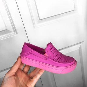 Girls Roka Slip on Crocs
